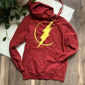 Men's Flash dc comic hoodie sweatshirt jacket SZM